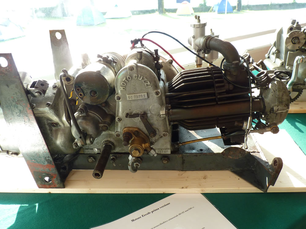 Mostra Moto Guzzi Ercole